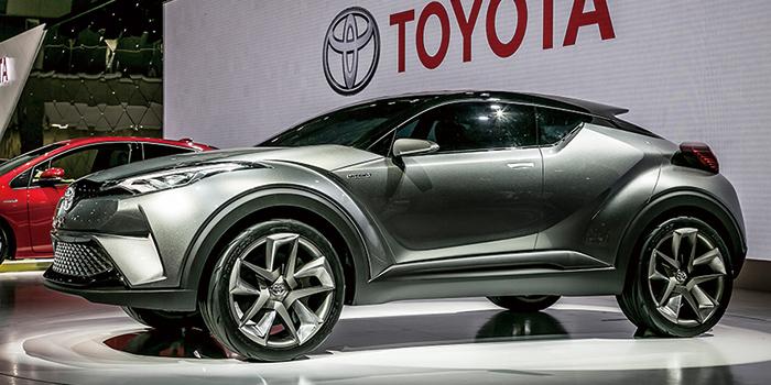 トヨタ・C-HRコンセプトカー2015